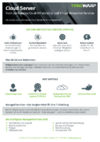 Cloud Server Datenblatt Druck + Download